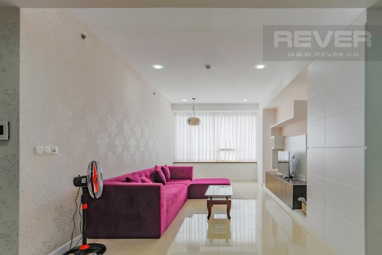 Phòng Khách Căn hộ Sunrise City 3 phòng ngủ tầng cao V5 đầy đủ nội thất