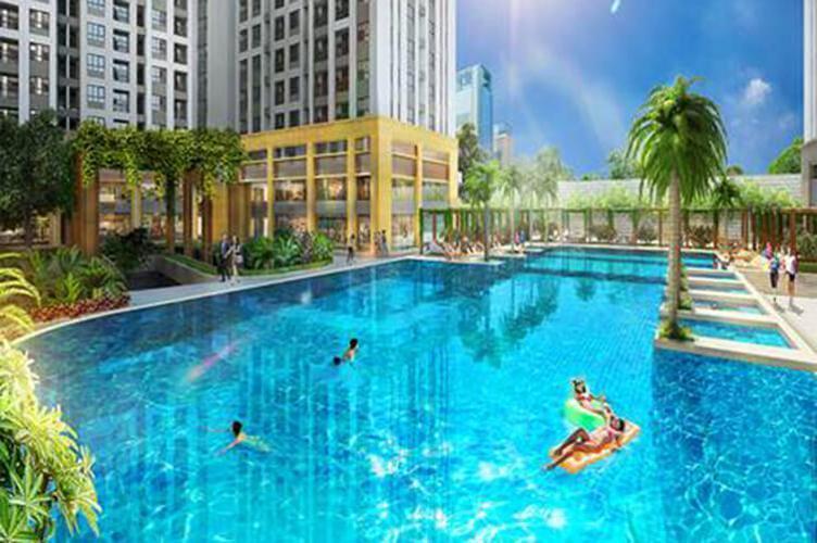 Tiện ích căn hộ Richstar, Tân Phú Căn hộ Richstar nội thất đầy đủ, 2 phòng ngủ.