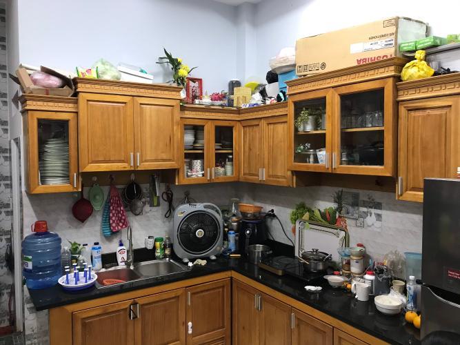 Phòng bếp nhà phố Thủ Đức Nhà phố Thủ Đức hướng Đông diện tích 4mx15m, hẻm xe hơi.