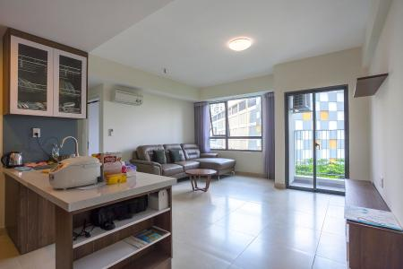 Căn hộ Masteri Thảo Điền 2 phòng ngủ tầng thấp T1 hướng Tây Nam