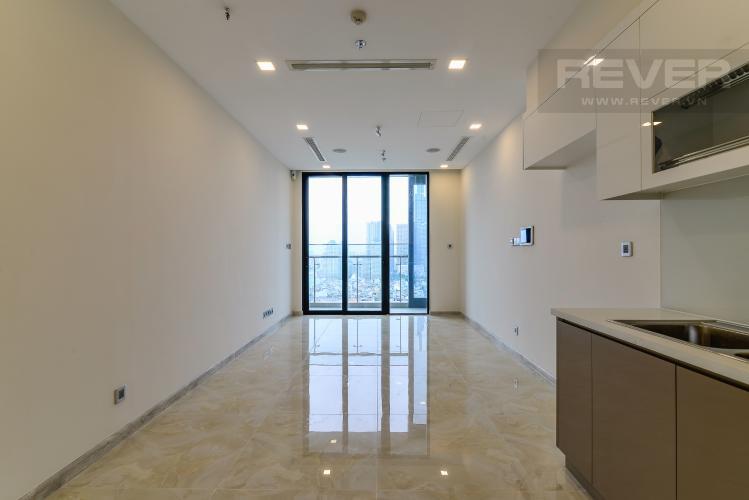 Phòng Khách Căn hộ Vinhomes Golden River tầng cao, tháp The Aqua 4, view sông Sài Gòn
