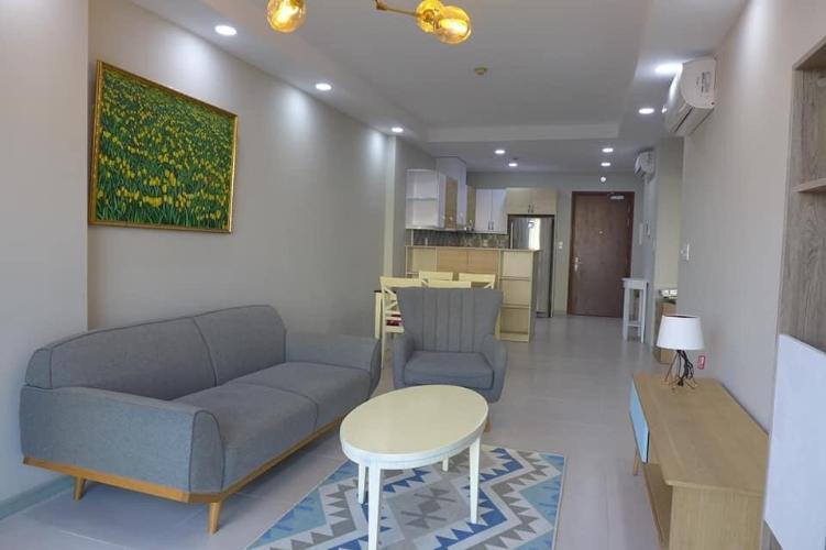 Cho thuê căn hộ The Gold View tầng thấp, diện tích 92m2 - 2 phòng ngủ, đầy đủ nội thất