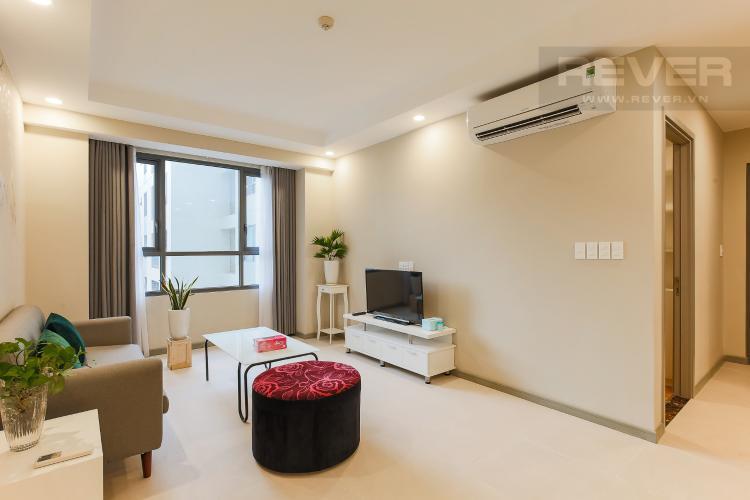 Phòng Khách Căn hộ The Gold View tầng cao, 2PN, đầy đủ nội thất, đa tiện ích