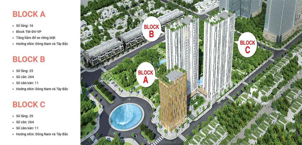Bán căn hộ Citi Esto thuộc tầng cao, 2 phòng ngủ, diện tích 60m2, chưa bàn giao.