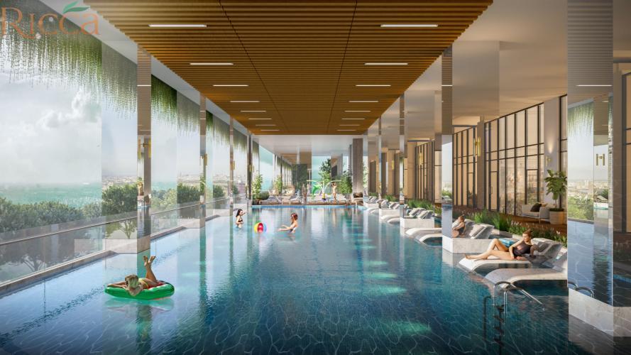 Bể bơi nội khu dự án căn hộ Ricca Quận 9