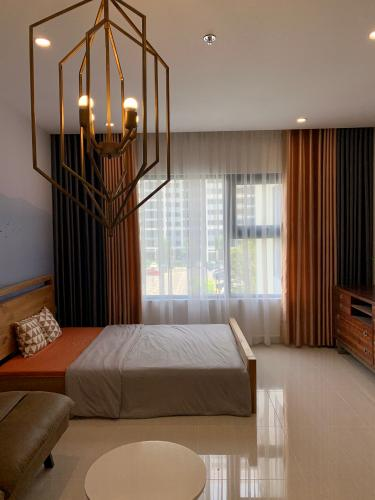 Căn hộ 1 phòng ngủ Vinhomes Grand Park đầy đủ nội thất.