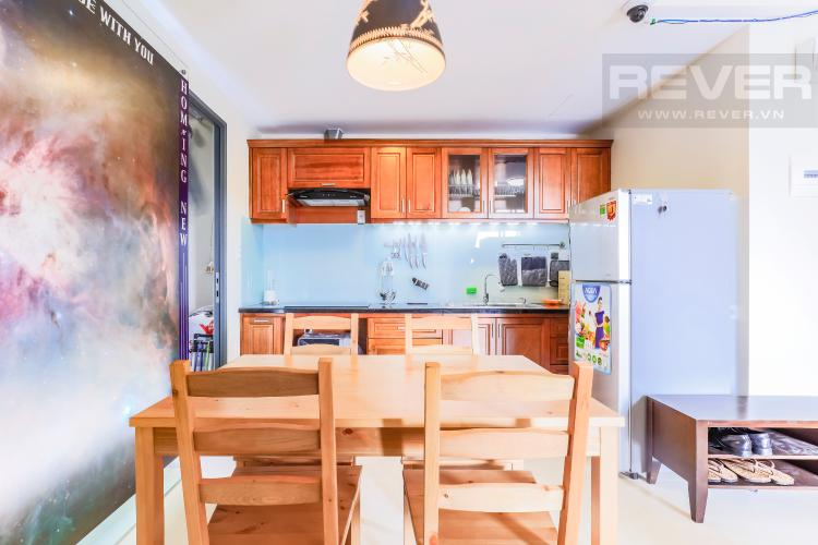 Không gian bếp Căn hộ Masteri Thảo Điền tầng thấp T1B hướng Tây Bắc 1 phòng ngủ