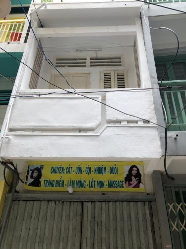 Bán nhà hẻm thông đường Nguyễn Biểu, sổ hồng đầy đủ, diện tích đất 17.8m2.
