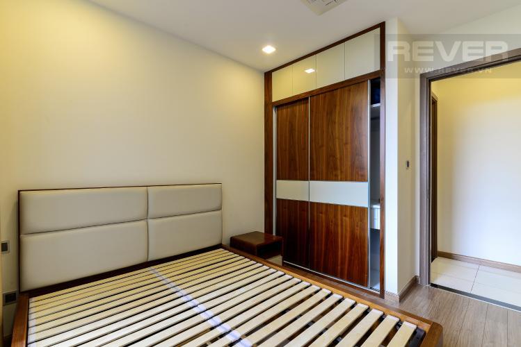 Phòng Ngủ 1 Cho thuê căn hộ Vinhomes Central Park 3PN, tháp Park 7, đầy đủ nội thất, view hồ bơi
