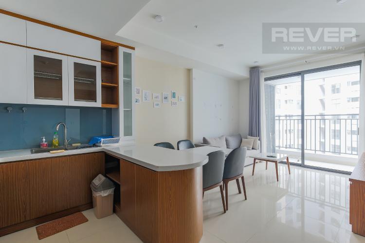 Phòng Bếp Căn hộ The Tresor tầng cao, 2PN, đầy đủ nội thất