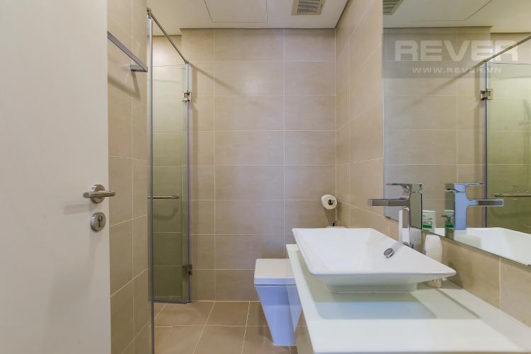 Phòng Tắm 1 Cho thuê căn hộ Masteri Millennium tầng trung, 2PN, đầy đủ nội thất