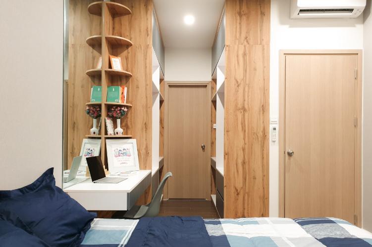 Phòng ngủ căn hộ THE SUN AVENUE Bán căn hộ The Sun Avenue thuộc tầng thấp, 2 phòng ngủ, diện tích 67.3m2, đầy đủ nội thất