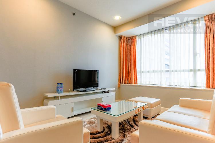 Phòng Khách Căn hộ Sunrise City tầng trung, tháp V6 khu South, 99m2, 2 phòng ngủ, full nội thất
