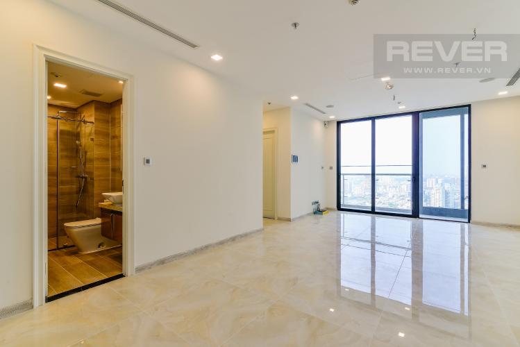 Phòng Khách Căn hộ Vinhomes Golden River 2 phòng ngủ tầng cao A1 nhà trống