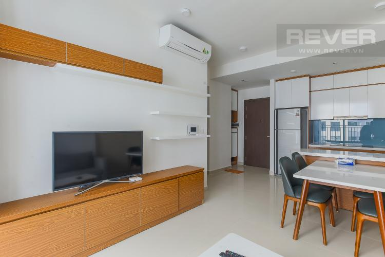 Phòng Khách Căn hộ The Tresor tầng cao, 2PN, đầy đủ nội thất