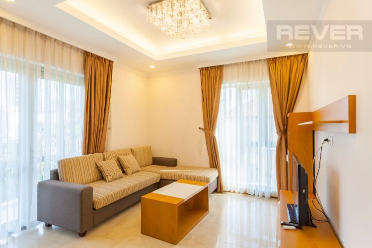 Phòng khách Căn hộ Saigon Pavillon 3 phòng ngủ ngay trung tâm