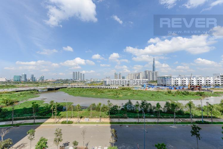View Công Viên Căn hộ Sadora Sala Đại Quang Minh 2PN đầy đủ nội thất, view hồ bơi và công viên