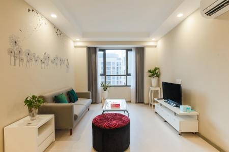 Căn hộ The Gold View tầng cao, 2PN, đầy đủ nội thất, đa tiện ích