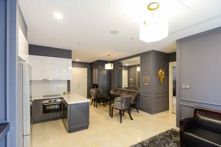 Cho thuê căn hộ Vinhomes Golden River 2PN, tháp The Luxury 6, đầy đủ nội thất, view sông thoáng mát