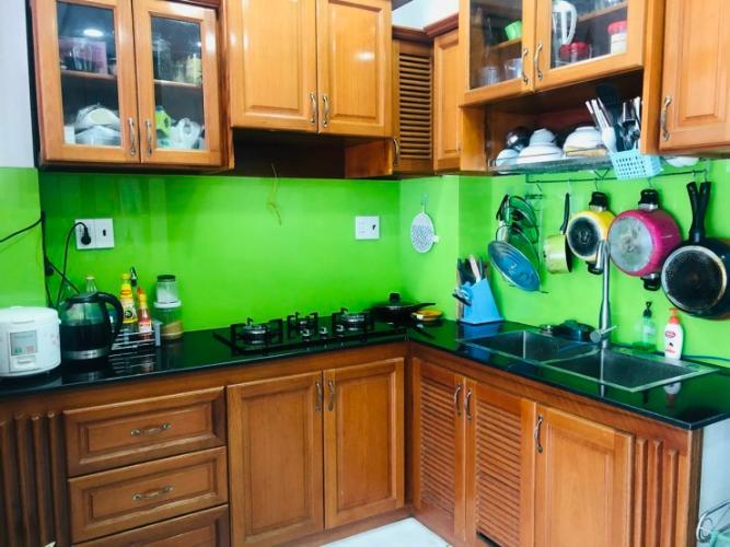 Bếp nhà phố Bình Thạnh Nhà hẻm xe hơi Q. Bình Thạnh, hướng Nam chệch Tây, diện tích 6x5.9m.