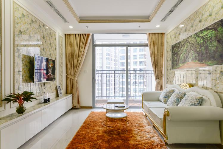 Căn góc Vinhomes Central Park tầng cao L2, 3 phòng ngủ, view sông