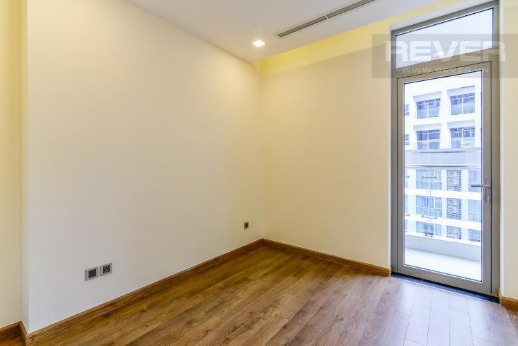 Phòng Ngủ 1 Căn hộ Vinhomes Central Park tầng cao Park 5 nội thất cơ bản