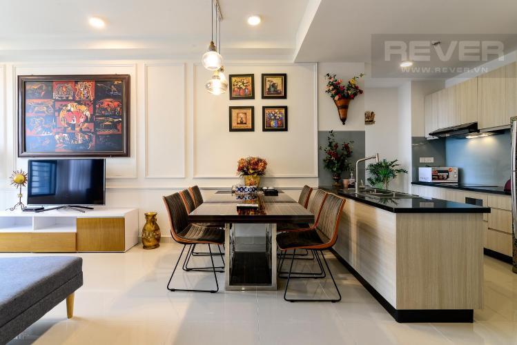 Cho thuê căn hộ The Tresor 2 phòng ngủ, tháp TS1, đầy đủ nội thất, view kênh Bến Nghé