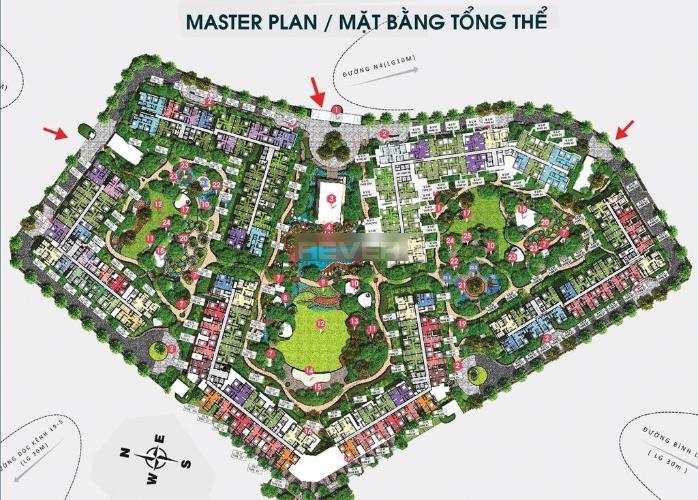 Mặt bằng Celadon City, Tân Phú Căn hộ Celadon City view thành phố, bàn giao nội thất gỗ đầy đủ.