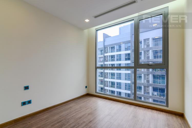 Phòng Ngủ 2 Căn hộ Vinhomes Central Park tầng cao Park 4 nội thất cơ bản