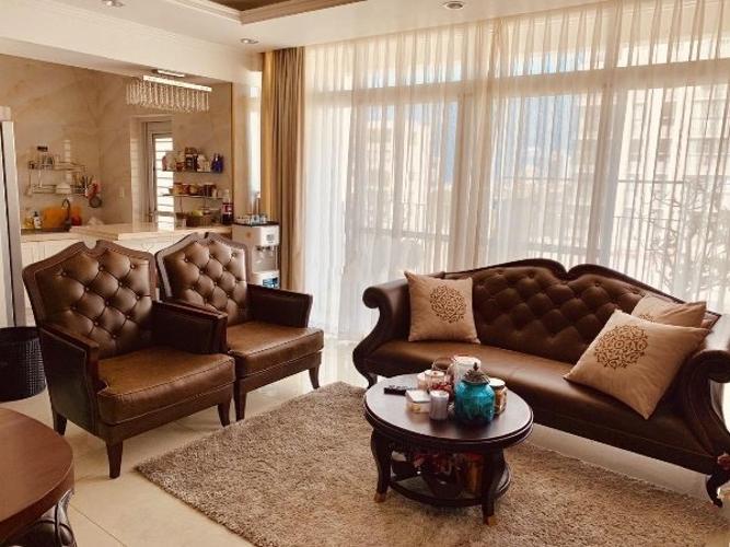 Phòng khách Star Hill Phú Mỹ Hưng, Quận 7 Căn hộ Star Hill Phú Mỹ Hưng tầng trung, sân vườn rộng tuyệt đẹp.