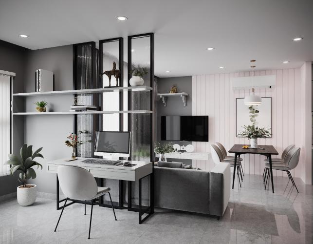 Cho thuê căn hộ đầy đủ nội thất, tầng thấp Vinhomes Grand Park