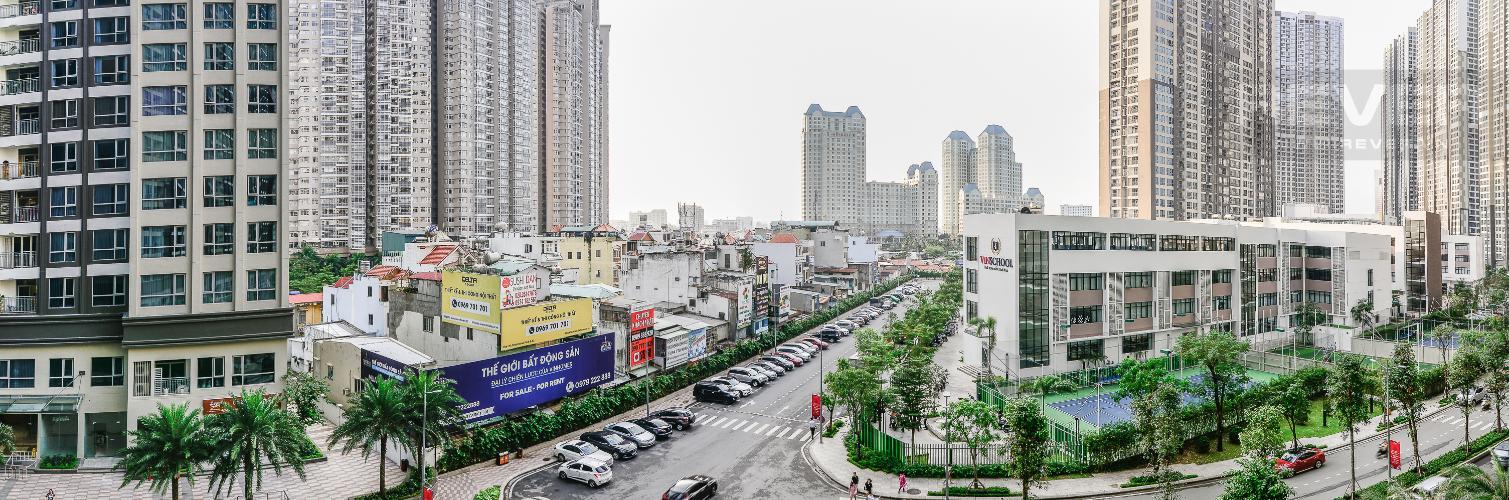 View Cho thuê căn hộ Vinhomes Central Park tầng thấp, 2PN, đầy đủ nội thất