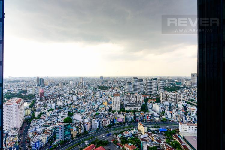 View Cho thuê căn hộ Vinhomes Golden River 1PN, tầng cao tháp The Aqua 1, đầy đủ nội thất, view sông tuyệt đẹp