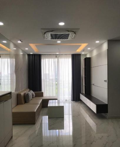 Phòng khách căn hộ Phú Mỹ Hưng Midtown Căn hộ Phú Mỹ Hưng Midtown quận 7 tầng trung, nội thất đầy đủ
