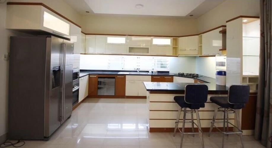 Phòng bếp Biệt thự Fideco Quận 2 Biệt thự Fedico Thảo Điền sân vườn rộng, hồ bơi đẹp.