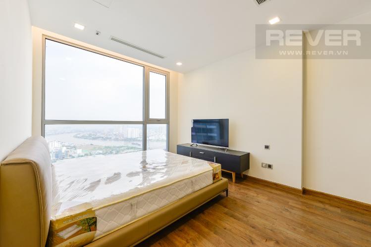 Phòng ngủ 1 Căn góc Vinhomes Central Park 4 phòng ngủ tầng cao Park 4
