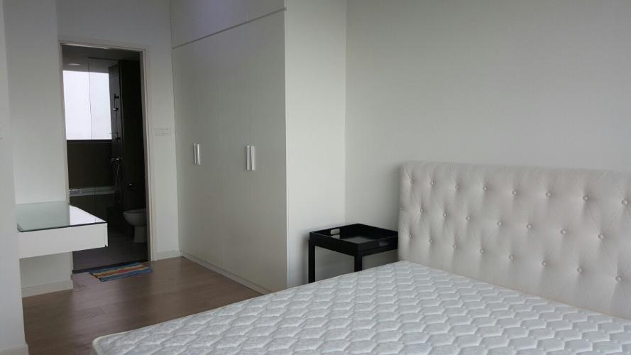 Phòng ngủ căn hộ Riviera Point Căn hộ tầng cao Riviera Point nội thất đầy đủ, view thành phố sầm uất.