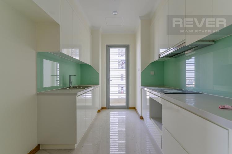 Nhà Bếp Cho thuê căn hộ Vinhomes Central Park 3PN và 2WC, nội thất cơ bản, view nội khu