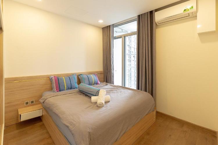 Căn hộ Sadora Apartment tầng thấp, view thành phố xanh mát.