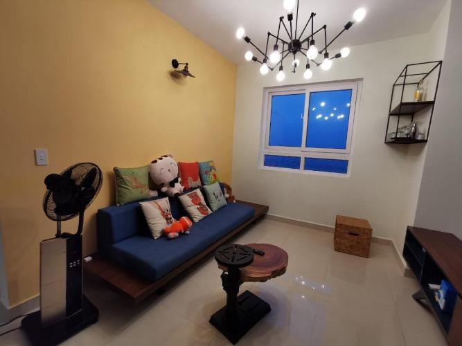 Căn hộ tầng cao Topaz City đầy đủ nội thất tiện nghi.