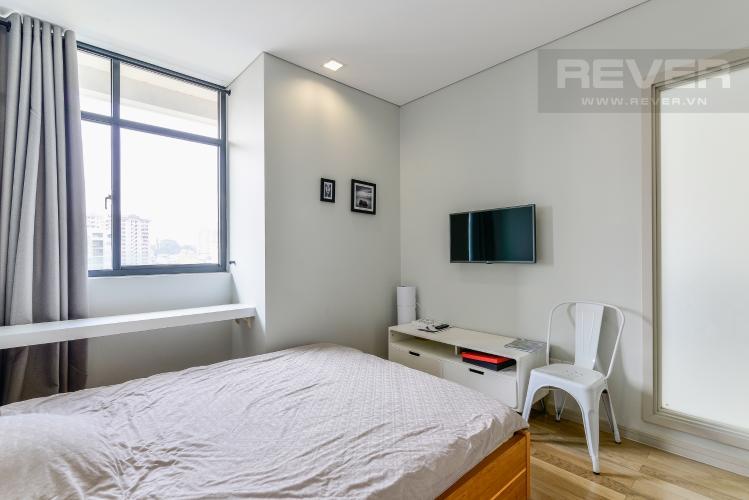 Phòng Ngủ Căn hộ City Garden 1 phòng ngủ tầng thấp B2 đầy đủ tiện nghi
