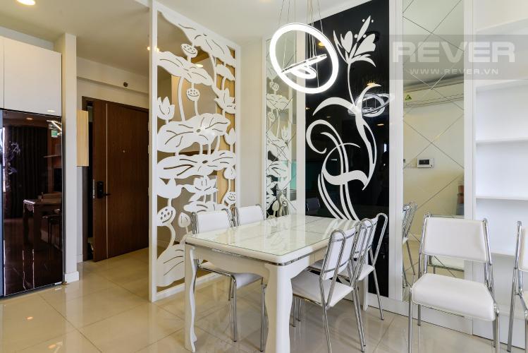 Phòng Ăn Bán căn hộ Icon 56 3PN, tầng thấp, đầy đủ nội thất, view kênh Bến Nghé