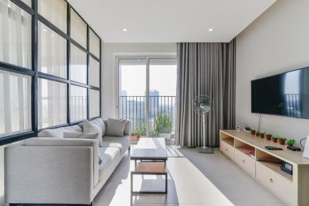 Căn hộ Vista Verde 1 phòng ngủ tầng thấp T1 đầy đủ nội thất