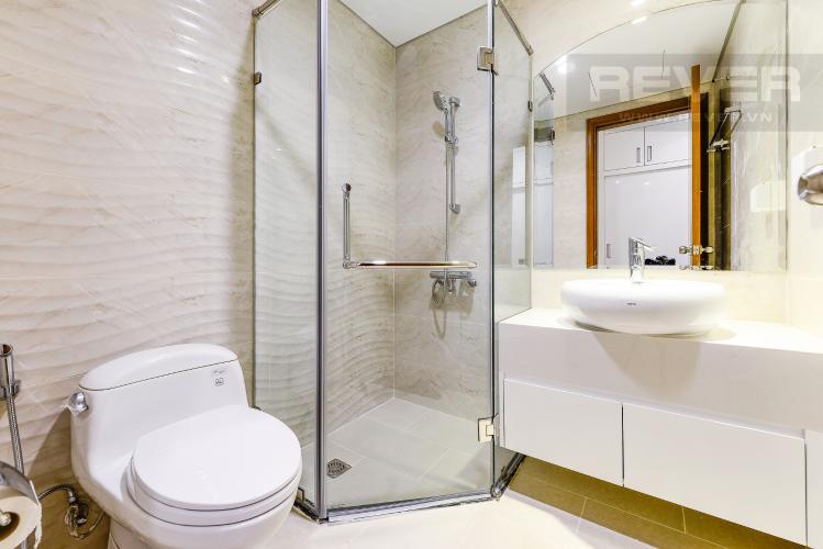 Phòng tắm 1 Căn hộ Vinhomes Central Park 3 phòng ngủ tầng trung L5 nội thất đẹp