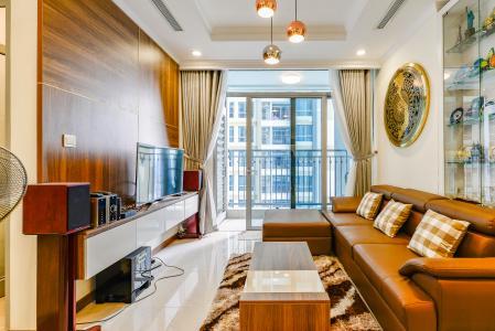 Căn hộ Vinhomes Central Park 2 phòng ngủ tầng cao L5 đầy đủ tiện nghi