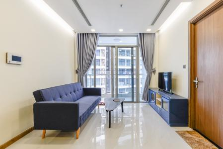 Officetel Vinhomes Central Park 1 phòng ngủ tầng trung  P7 nội thất đầy đủ