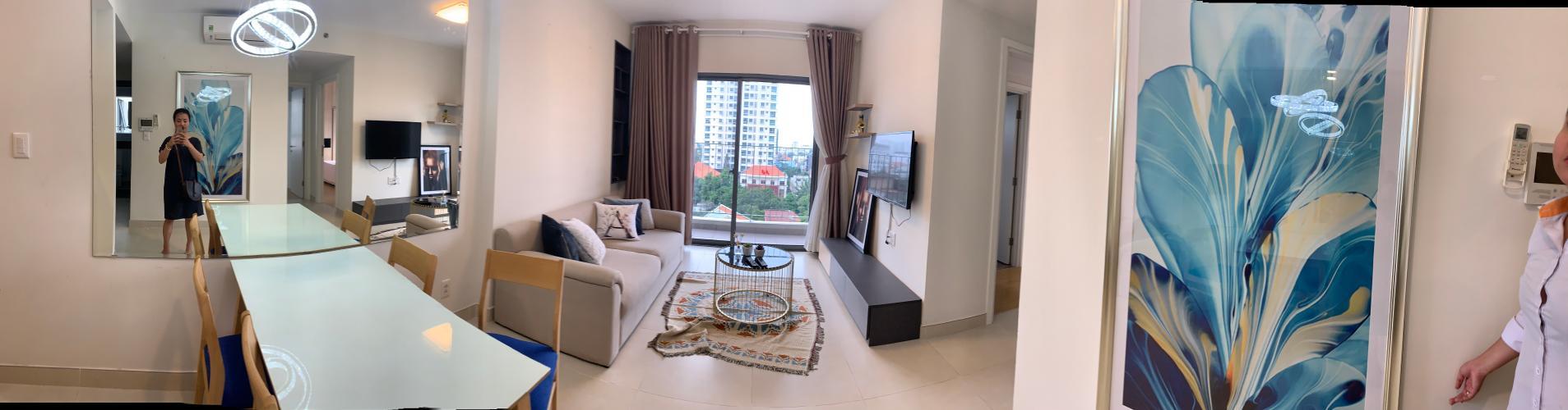 Bán căn hộ Masteri Thảo Điền 2PN, tháp T4, đầy đủ nội thất, view nội khu