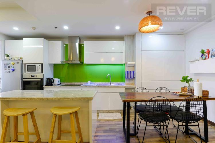 Bếp Bán căn hộ Tropic Garden tầng trung tháp C1, 2PN 2WC, đầy đủ nội thất, hướng Đông Nam mát mẻ