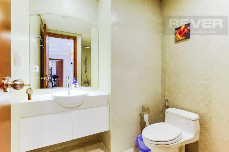 Phòng Tắm 1 Căn hộ Vinhomes Central Park tầng cao Central 2 thiết kế hiện đại, trẻ trung