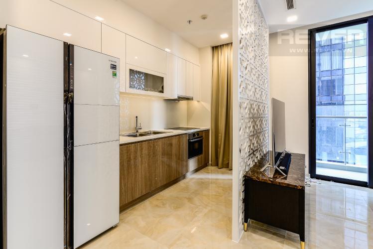 Nhà Bếp Căn hộ Vinhomes Golden River 3 phòng ngủ tầng trung A4 hướng Tây Nam